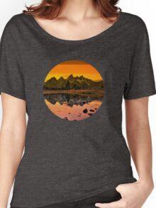suntan mountains Women's Relaxed Fit T-Shirt