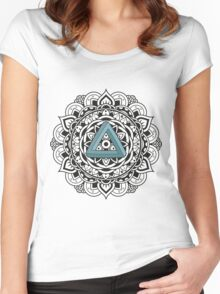 Impossible Mandala Women's Fitted Scoop T-Shirt