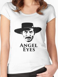 Angel Eyes Women's Fitted Scoop T-Shirt