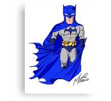 The Masked Bat Canvas Print