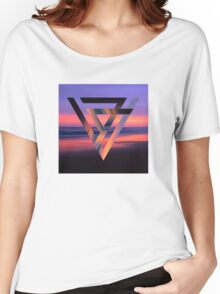 Neon Sky Women's Relaxed Fit T-Shirt