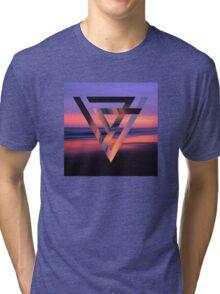 Neon Sky Tri-blend T-Shirt