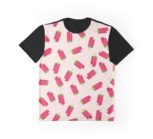 Watermelon Ice Pops Graphic T-Shirt