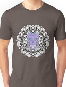 Mandala Skull Color Unisex T-Shirt