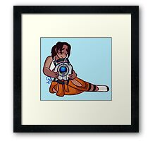 i forgive you – portal Framed Print
