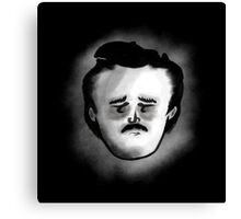 Poor Poe Canvas Print
