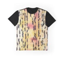 Bush Ants Abstract Original Watercolour and Ink Painting Graphic T-Shirt