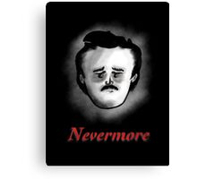 Poor Poe Nevermore Canvas Print