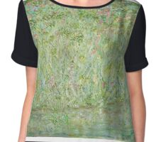 Dreams In Green Chiffon Top