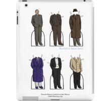 Howard Marion-Crawford as John Watson iPad Case/Skin