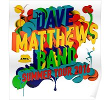 SUMMER TOUR 2016 D. MATTHEW BAND Poster