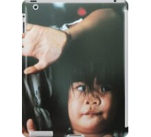 the beauty and humour of children iPad Case/Skin