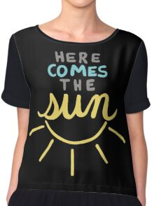 Here Comes the Sun Chiffon Top
