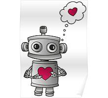 Valentine Robot Poster