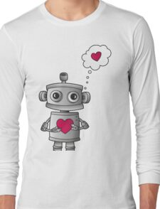 Valentine Robot Long Sleeve T-Shirt