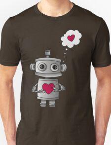 Valentine Robot Unisex T-Shirt