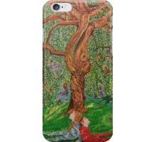 """""""Under the tree"""" iPhone Case/Skin"""