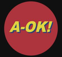 A-OK In Primary Colors Baby Tee