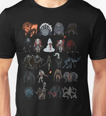 Bloodborne - chalice dungeons bosses Unisex T-Shirt