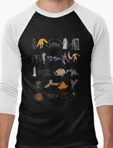 Demon's Souls bosses Men's Baseball ¾ T-Shirt