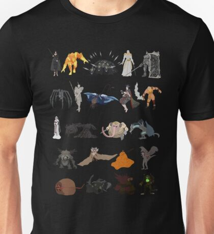 Demon's Souls bosses Unisex T-Shirt