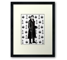 Captain Hook, the Pirate Framed Print
