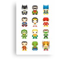 Super Heroes Canvas Print