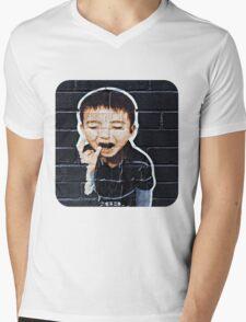 Paper Boy  Mens V-Neck T-Shirt