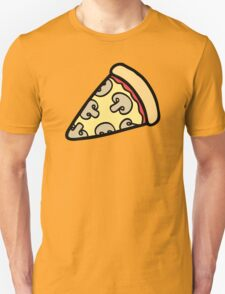 Mushroom Pizza Pattern Unisex T-Shirt