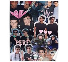 Dolan twins collage Poster