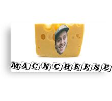 Mac (DeMarco) 'n' Cheese Canvas Print