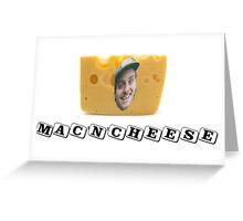 Mac (DeMarco) 'n' Cheese Greeting Card