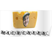 Mac (DeMarco) 'n' Cheese Poster