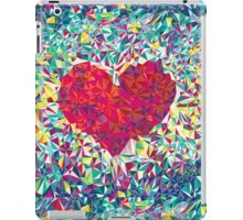 Low Poly Heart iPad Case/Skin