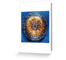 Blood Bronze Greeting Card