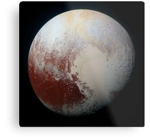 Pluto (Highest Resolution) Metal Print