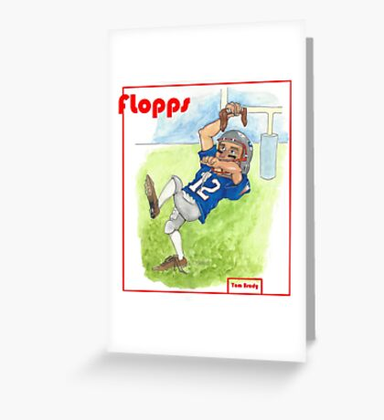 Tom Brady Trading Card Greeting Card
