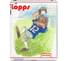 Tom Brady Trading Card iPad Case/Skin