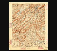 USGS TOPO Map New Jersey NJ Raritan 255448 1900 125000 Unisex T-Shirt