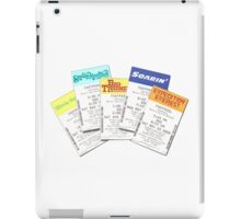 Fastpasses iPad Case/Skin