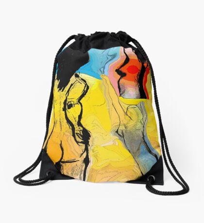 Run Free Drawstring Bag