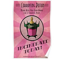 Corrupting Potion Art Deco poster Poster
