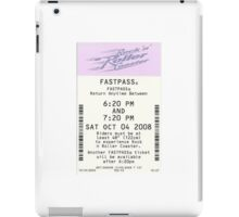 Rock 'n Roller Coaster Fastpass iPad Case/Skin