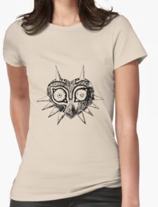 Majora's Mask Sketch Womens Fitted T-Shirt