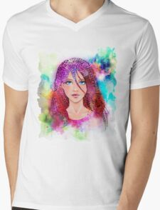 Imagination of the artist and creative Mens V-Neck T-Shirt