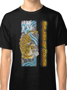 Splash of Color - Tiger Classic T-Shirt