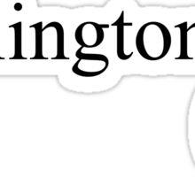 Wellington (eye emoji) Sticker