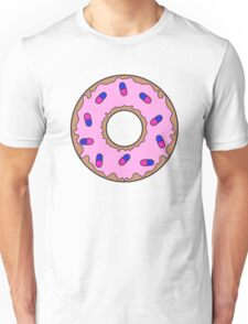 Donut and Pill Sprinkles Unisex T-Shirt