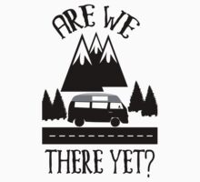Roadtrip Apparel - Are we There Yet? One Piece - Short Sleeve