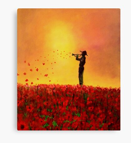 Lest We Forget Canvas Print
